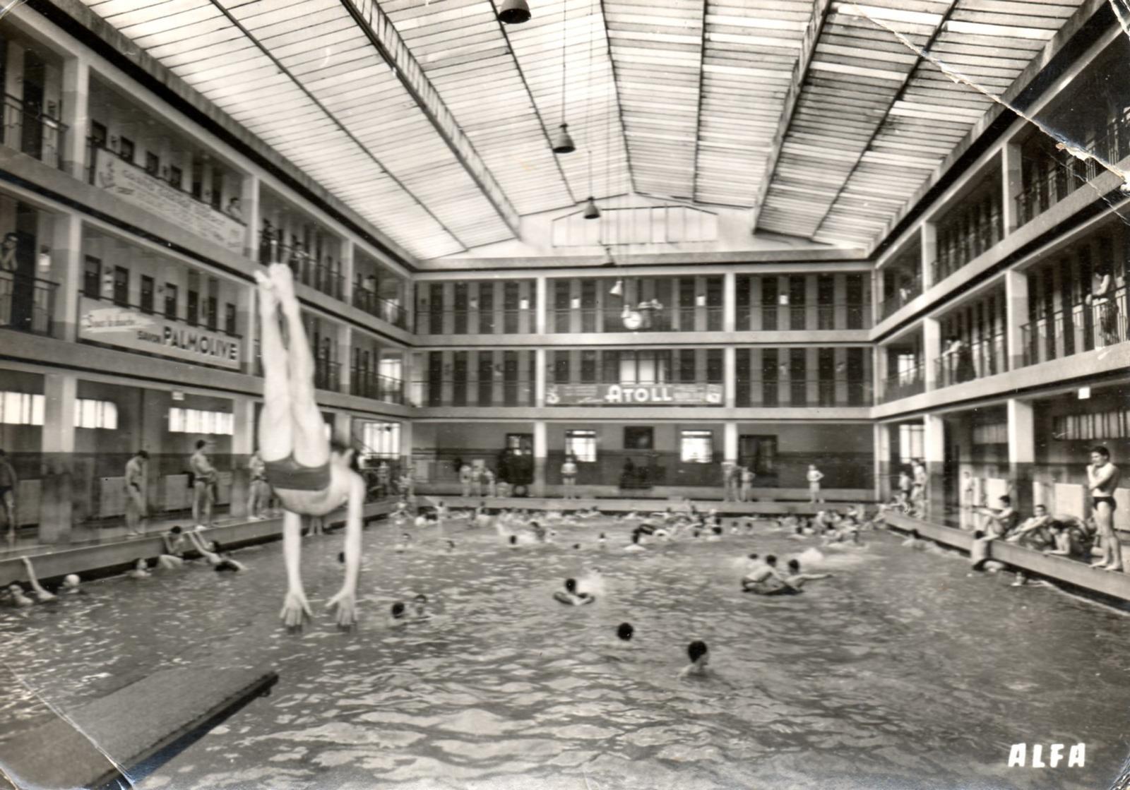 Paris int rieur piscine douard pailleron paris 19 eme - Piscine pailleron paris horaires ...
