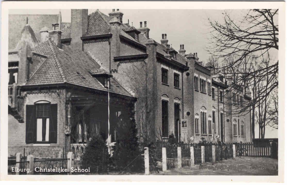 Elburg -  Chr School, 1956