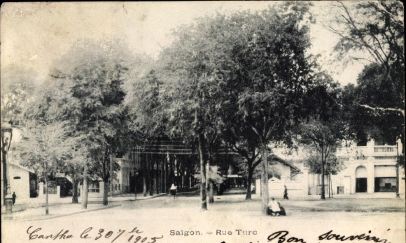 Hô Chi Minh-Ville -  Cp Saigon Cochinchine Vietnam, Rue Turc