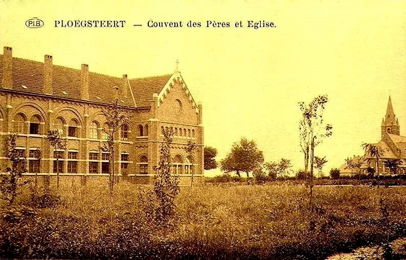 """Ploegsteert -  Ploegsteert """" Couvent des Pères """""""