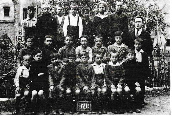Izola - Ragazzi di Isola del 1915 (foto di Goina Mario - passon)