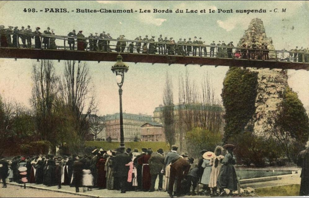Paris - 75 - Paris 19em - Buttes-Chaumont - Les Bords du Lac. - 46425