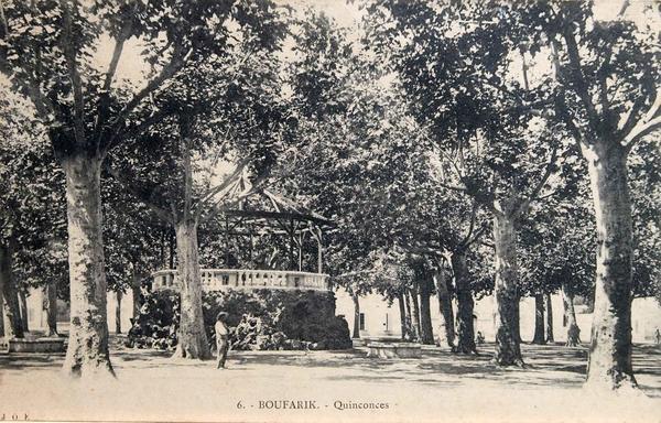 Boufarik - Place des Quinconces à Boufarik