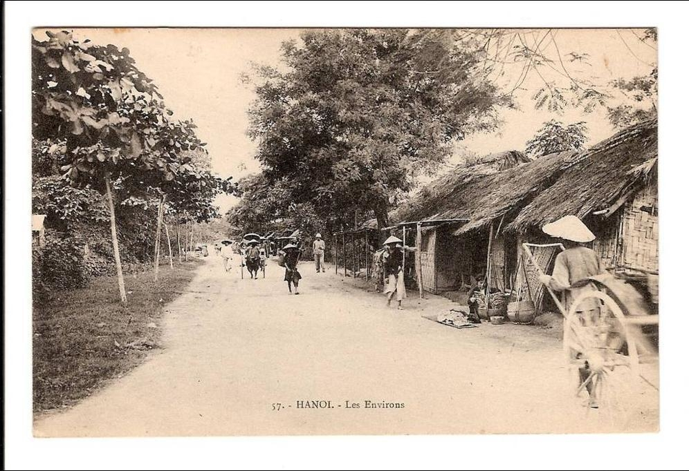 Hanoi -  INDOCHINE - HANOI - Les Environs