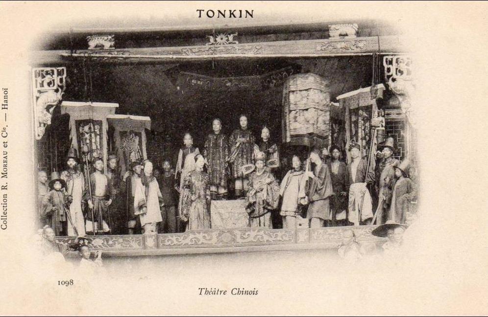 -  tonkin -   thêatre chinois