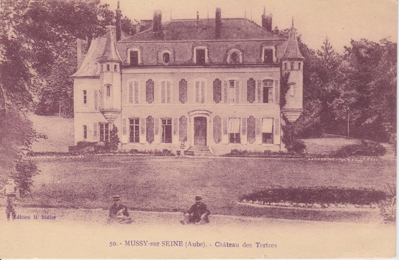 Mussy-sur-Seine -  Missy-Sur-Seine, château des Tertres