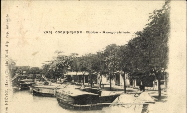 Cholon - Cp Cholon Vietnam, Arroyo chinois