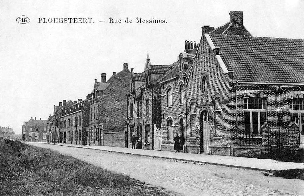 """Ploegsteert - Ploegsteert """" Rue de Messines """""""