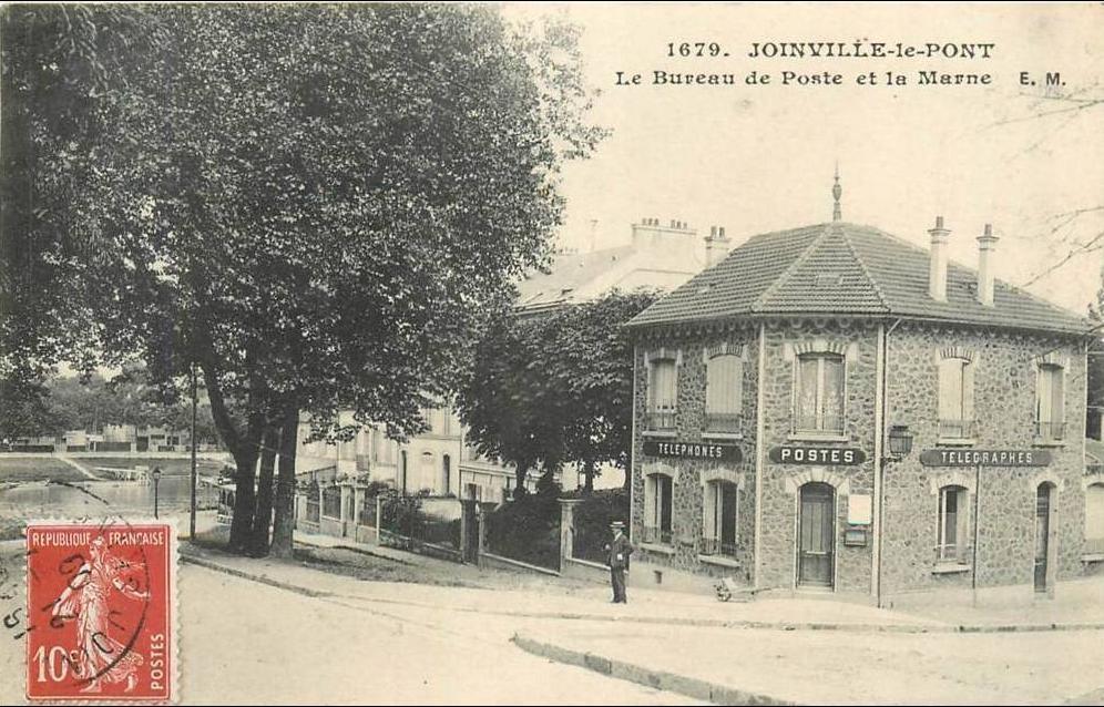 Bureau Joinville Le Pont : Joinville le pont joinville le pont le bureau de poste et la