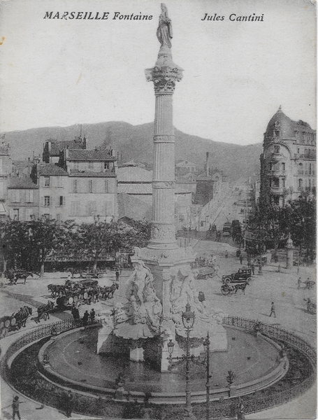 Marseille - Fontaine Jules Cantini