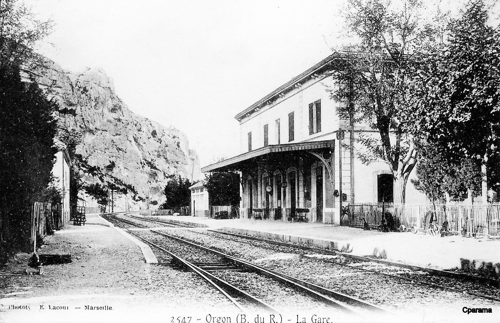 Orgon - Gare du Chemin de Fer P.L.M