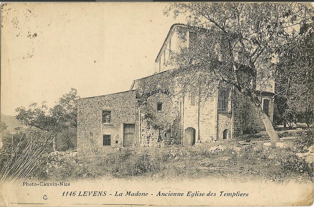Levens - Levens - La Madone - ancienne église des Templiers
