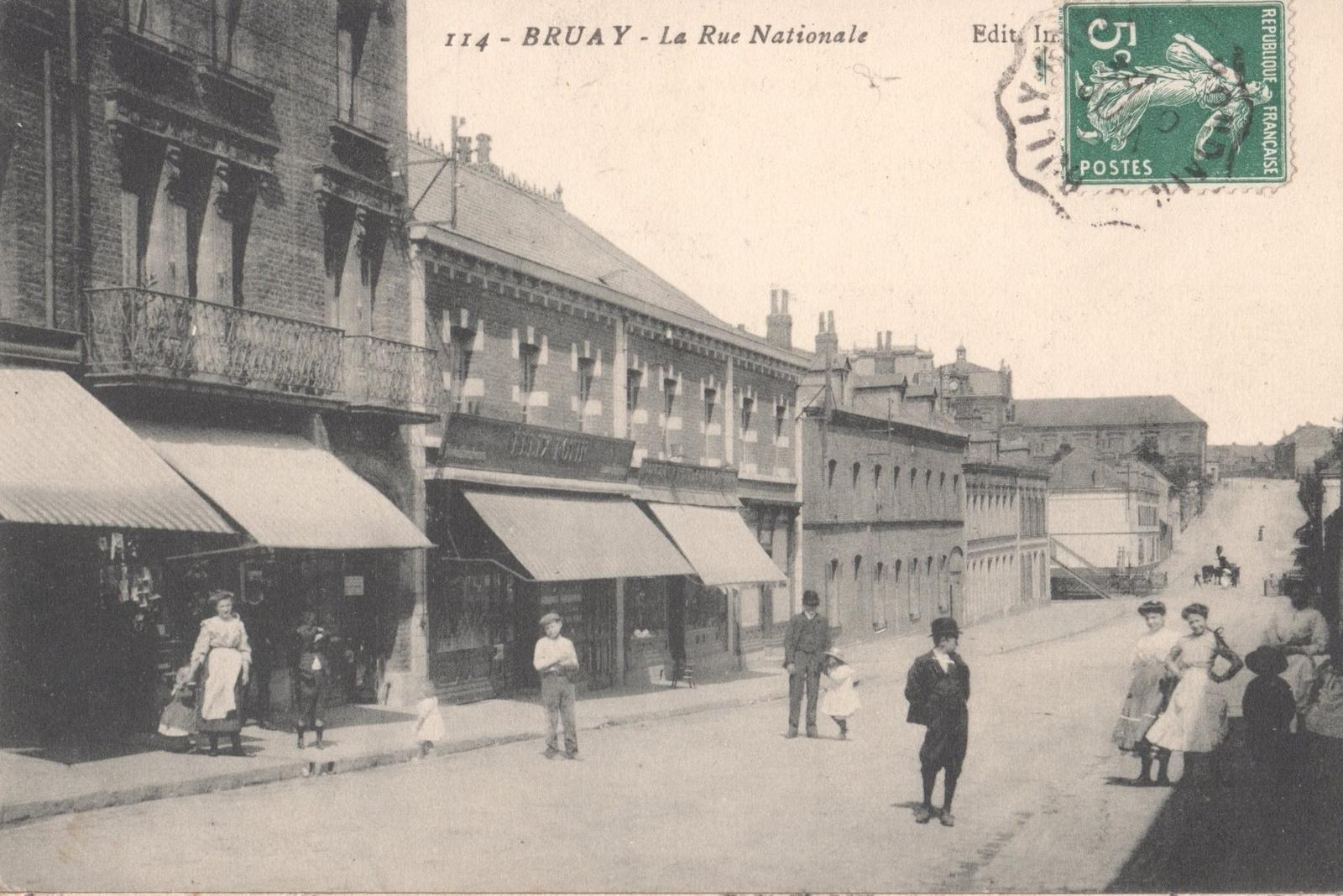 Bruay-la-Buissière - Rue Nationale