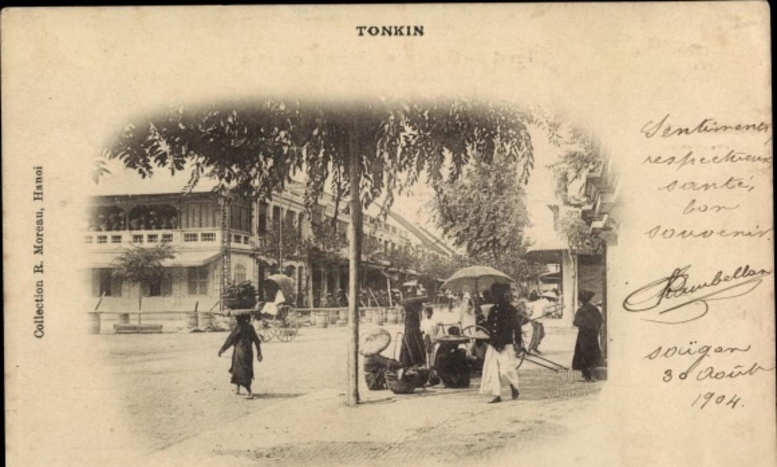 Hanoi -  Cp Hanoi Tonkin Vietnam, Rue Paul Bert