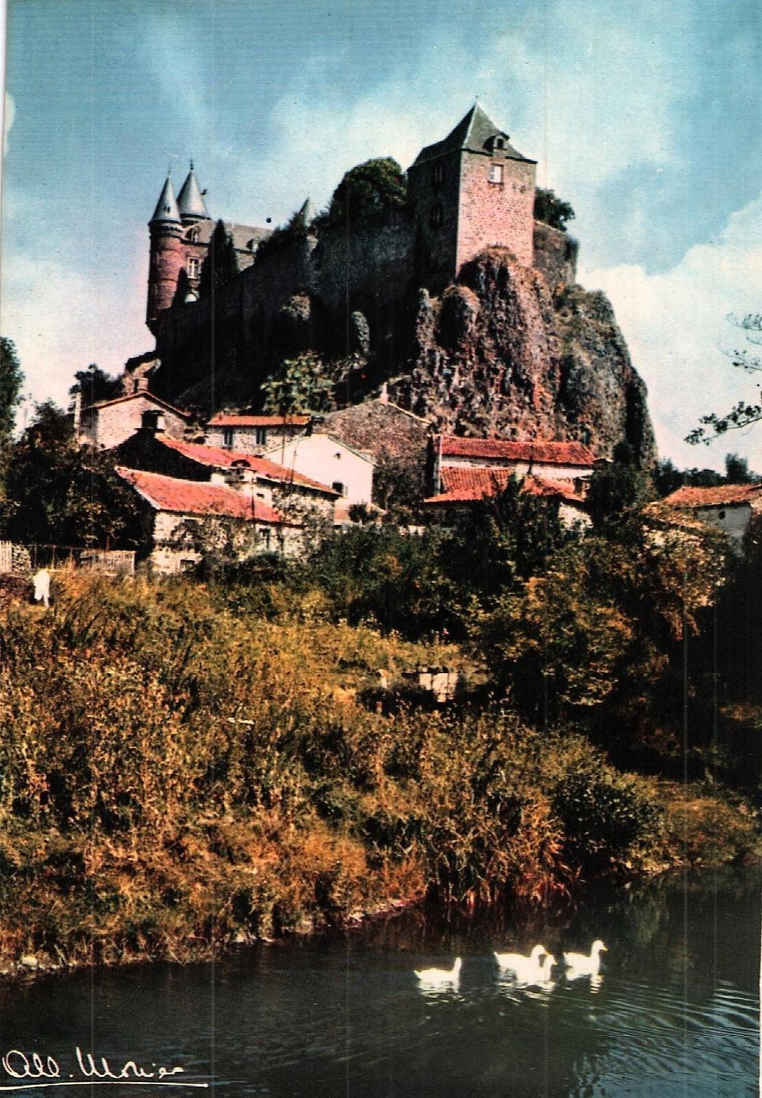 Andelat - Le Chateau de Sailhans