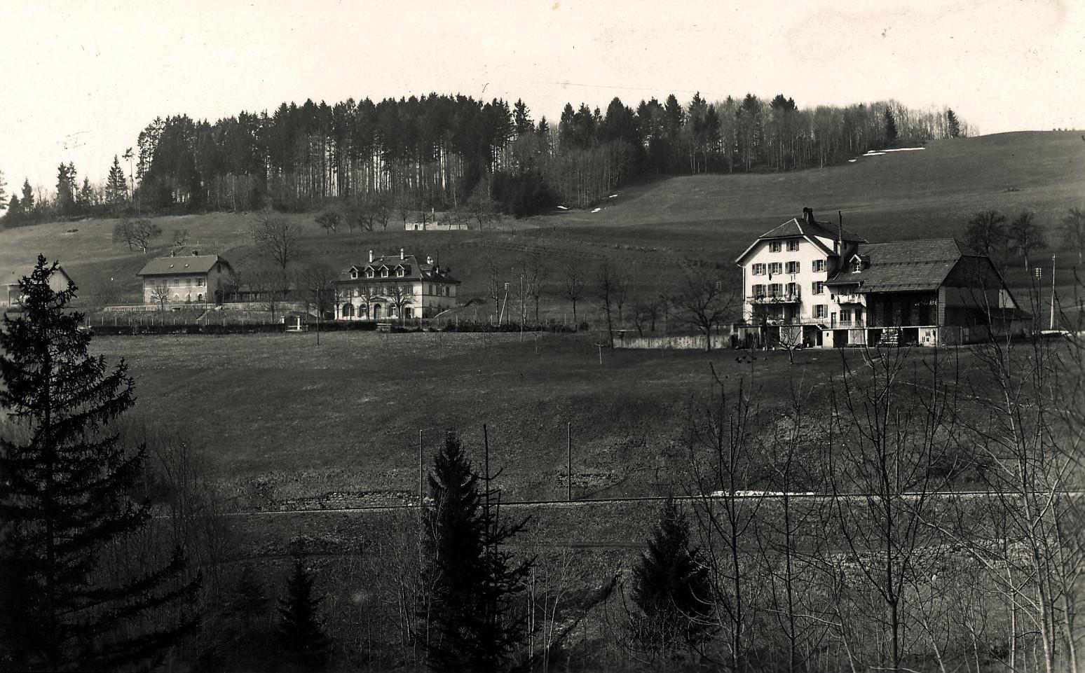 Châtel-Saint-Denis - L'année est approximative. Dernière demeure de Joséphine ZUMWALD née WAEBER (1883-1955)