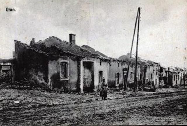 Eton -  Ruines-Guerre 1914-1918