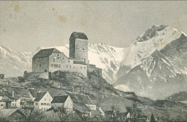 Sargans - Sargans - Schloss + 1910