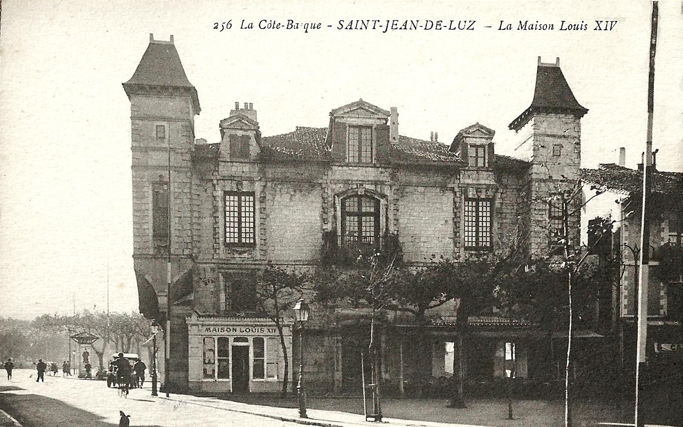 Saint-Jean-de-Luz - La Maison Louis XIV - Carte postale ...