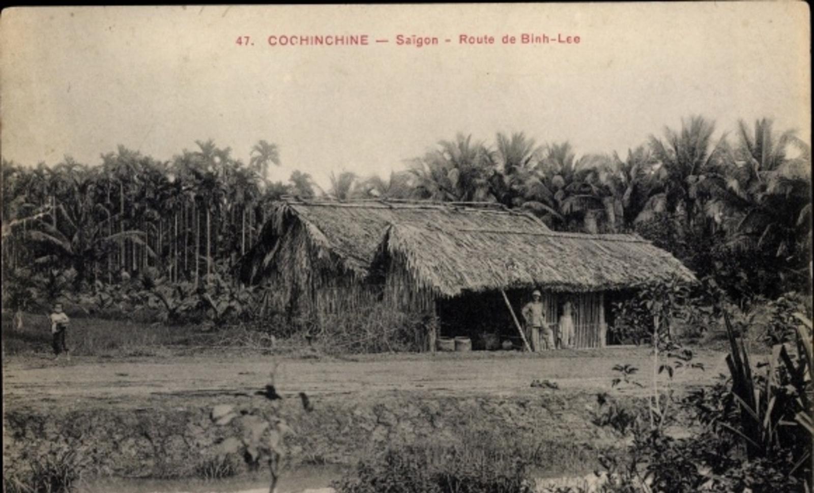 Hô Chi Minh-Ville -  Cp Saigon Cochinchine Vietnam, Route de Binh Lee