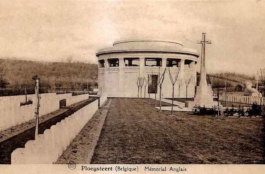 "Ploegsteert - Ploegsteert "" Memorial Anglais """