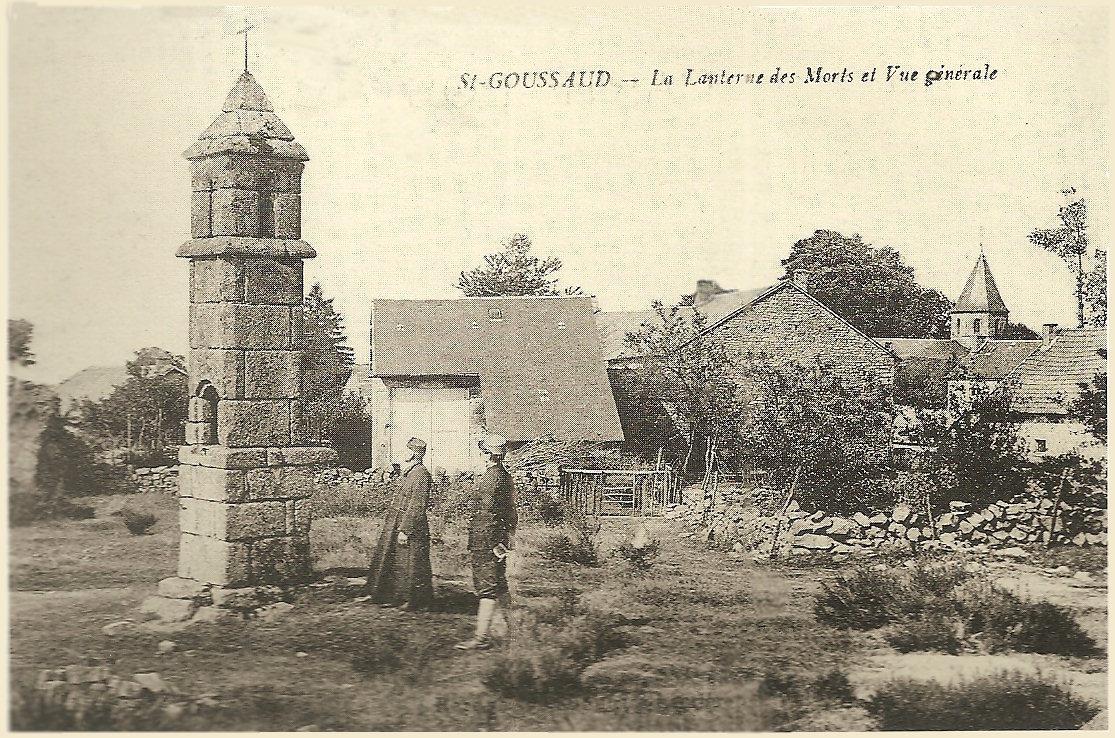 Saint-Goussaud -  Lanterne des Morts