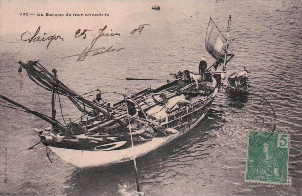 Ho-Chi-Minh -  SAIGON/ BARQUE de MER ANNAMITE/  Réference 3491