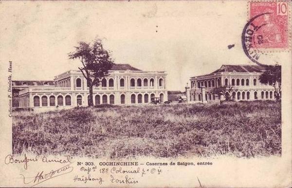 Saigon - Cochinchine, casernes de Saigon