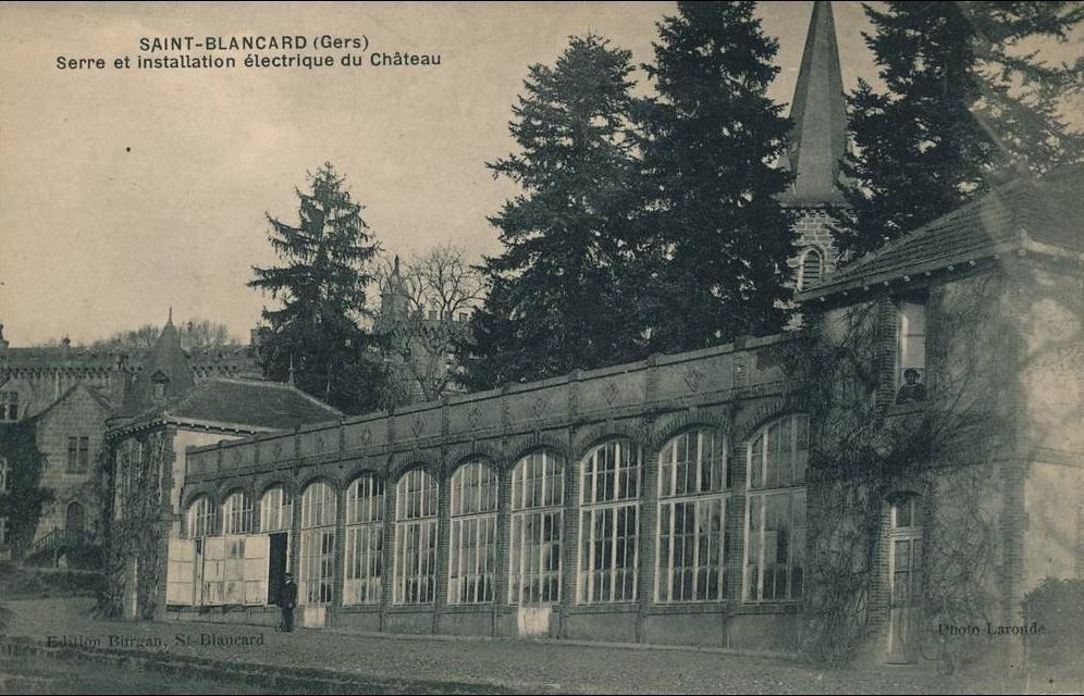 Saint-Blancard - SAINT BLANCARD - Serre et installation électrique du Château