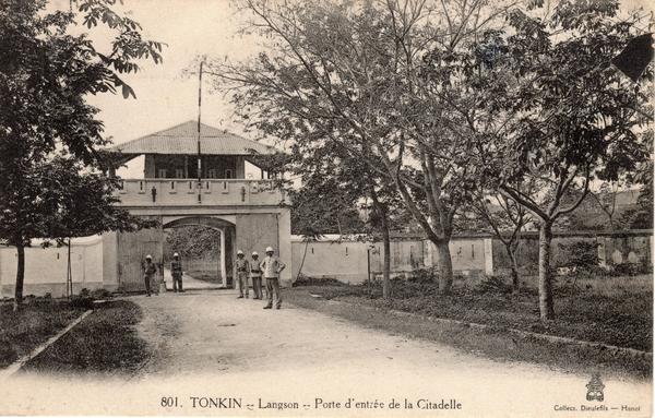 Langson - TONKIN-Langson-Porte d'entrée de la Citadelle