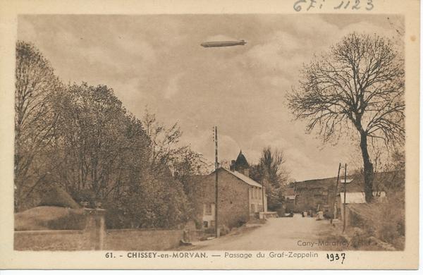 Chissey-en-Morvan - Chissey-en-Morvan. Passage du Graf-Zeppelin.