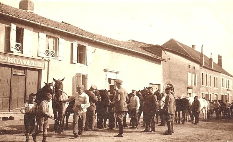 Conflans-en-Jarnisy -  CONFLANS-en-JARNISY (54), Troupes Allemandes, Guerre 14-18.