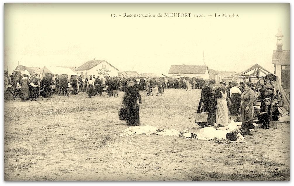"""Nieuwpoort - Nieuwpoort """" Reconstruction de Nieuport Anno 1920 """""""