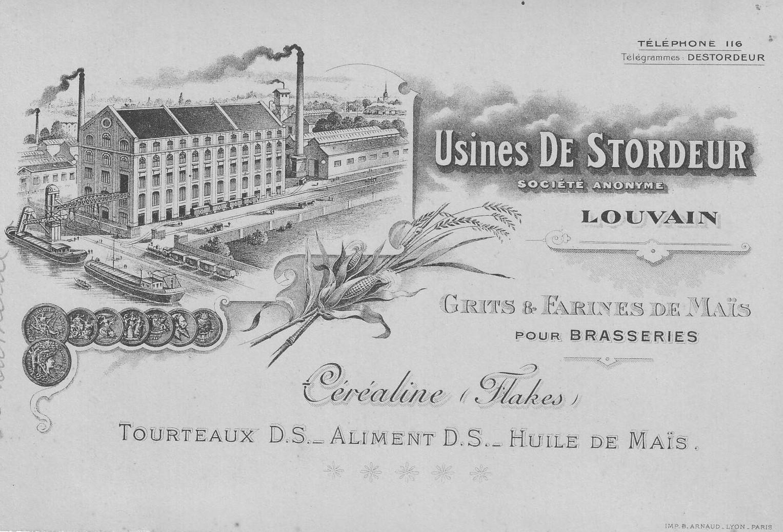 Louvain - Usines De Stordeur