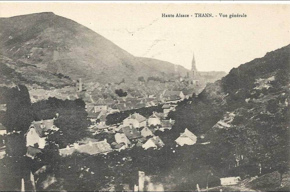 Carte Alsace Thann.Thann Haute Alsace Thann Vue Generale Etat Luxe