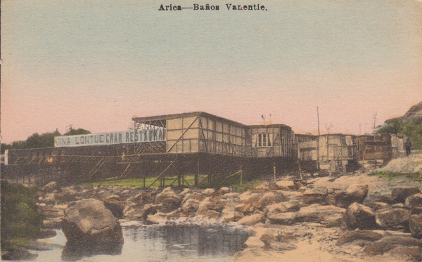Arica - Baños Vanentie.