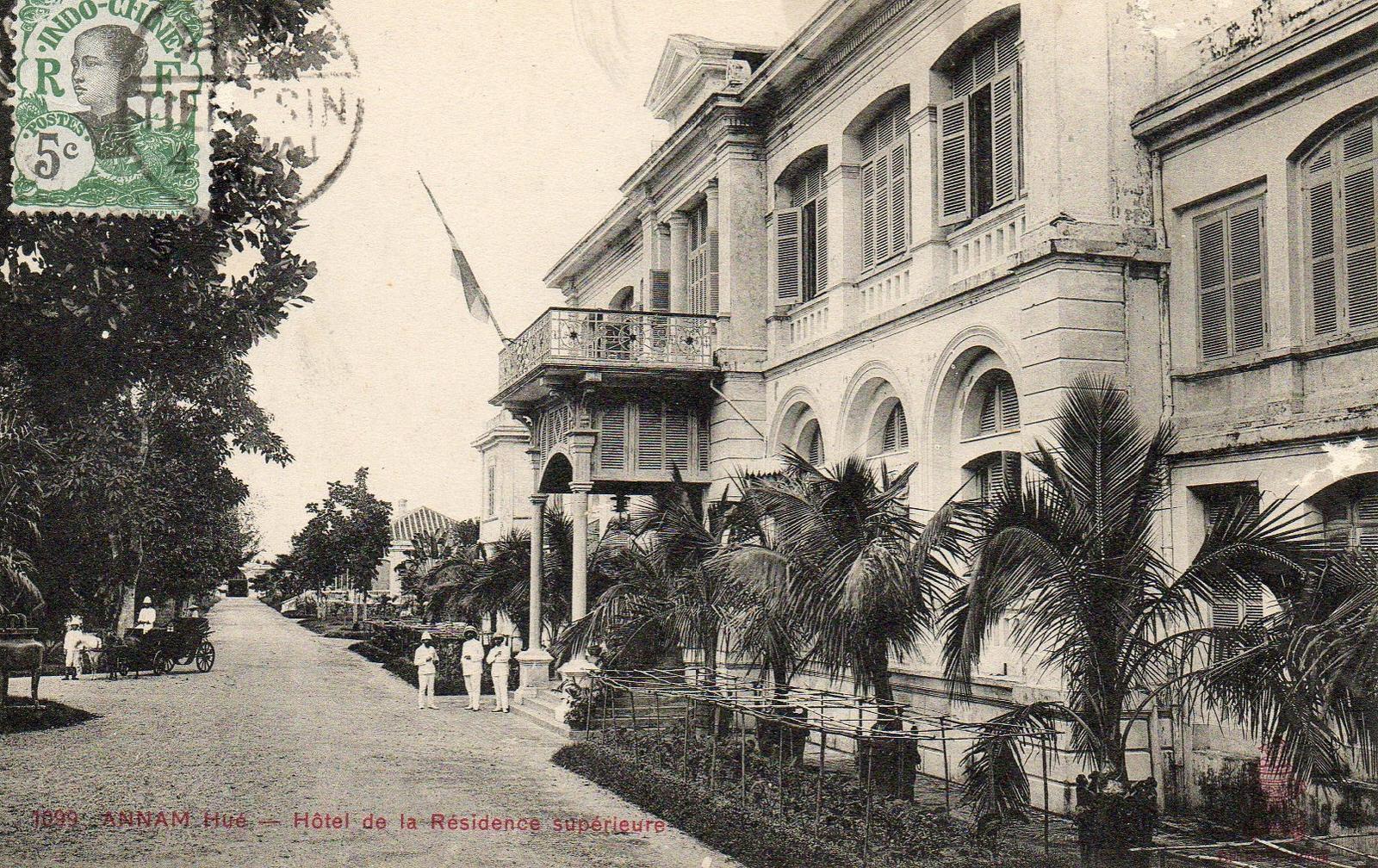 Hué -  hotel de la  residence superieure  a Hue