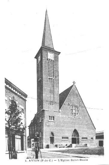 Avion -  Eglise Saint Denis