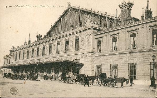 Marseille - la Gare St Charles