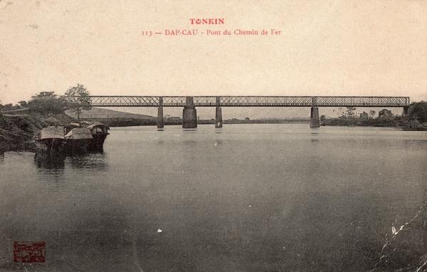 Dap-Cau - TONKIN-Dap Cau-Pont du Chemin de Fer