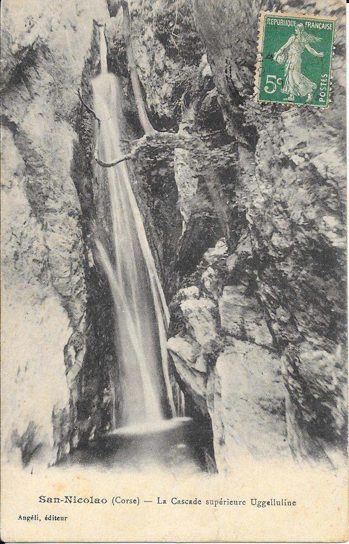 San-Nicolao - SAN-NICOLAO - La cascade supérieure