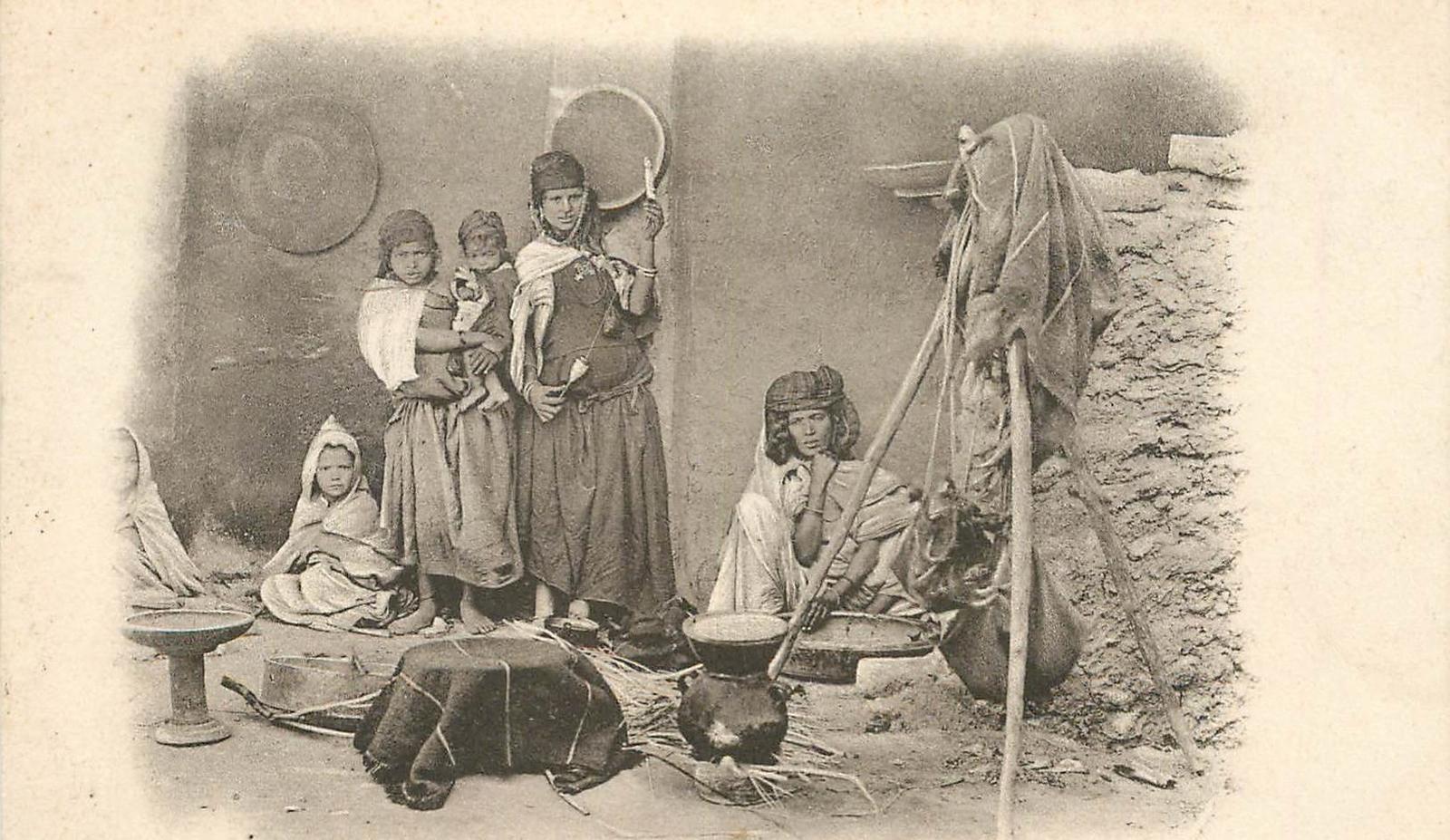 Biskra - ALGERIE 'Biskra, intérieur arabe'