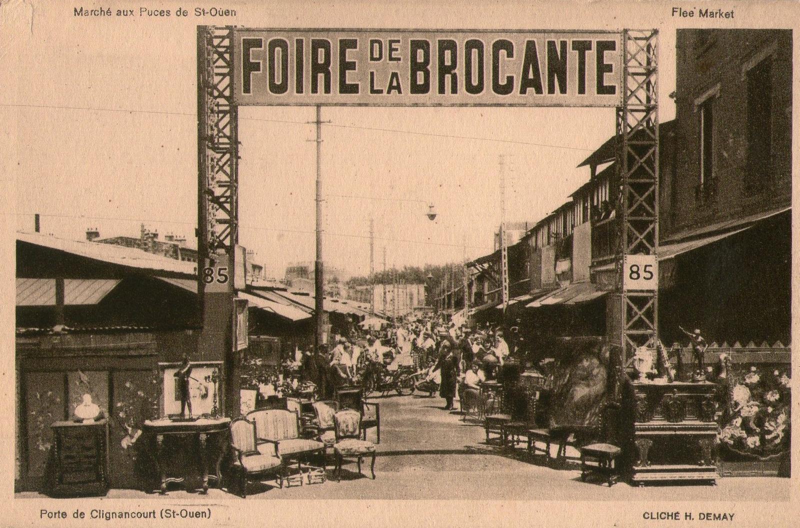 Saint ouen carte postale ancienne et vue d 39 hier et - Bureau de poste saint ouen ...