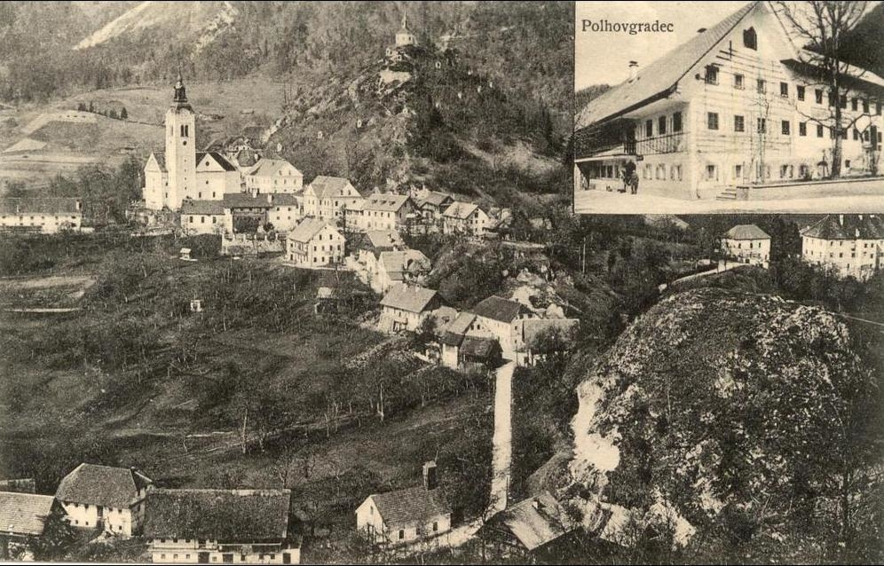 Polhov Gradec -  Slovenia-----Polhov Gradec-----old postcard