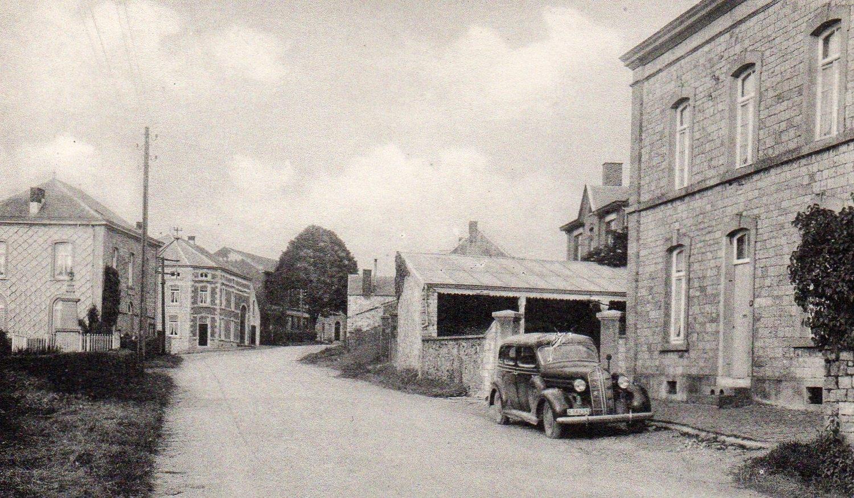 Carte Belgique Hamoir.Xhoris Une Vue De L Ecole Route De Hamoir Carte Postale