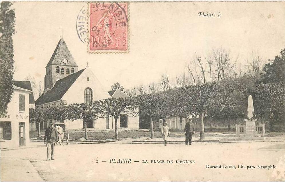 Plaisir - PLAISIR rue principale