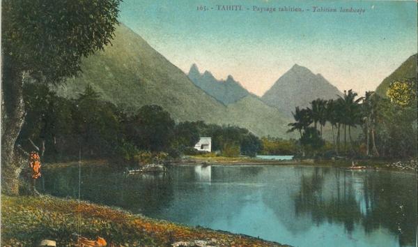 Papeete - Polynésie Française - Océanie - Tahiti - Papeete - Paysage Tahitien (Edition Gauthier) - Pas courante
