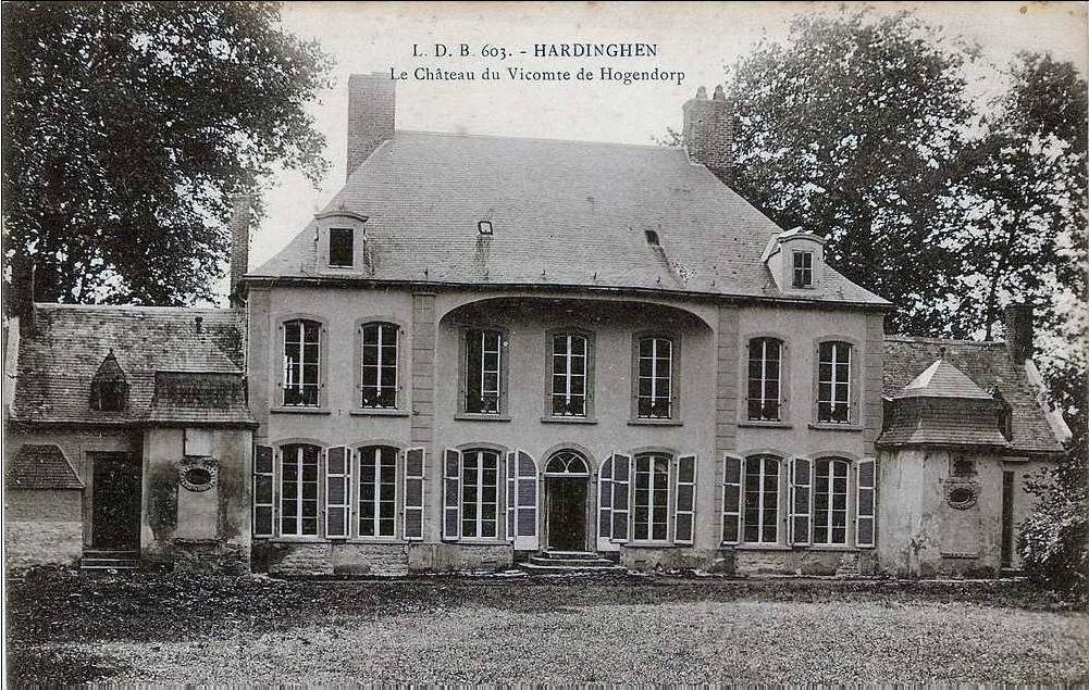 Hardinghen - Chateau du Vicomte de Hogendorp