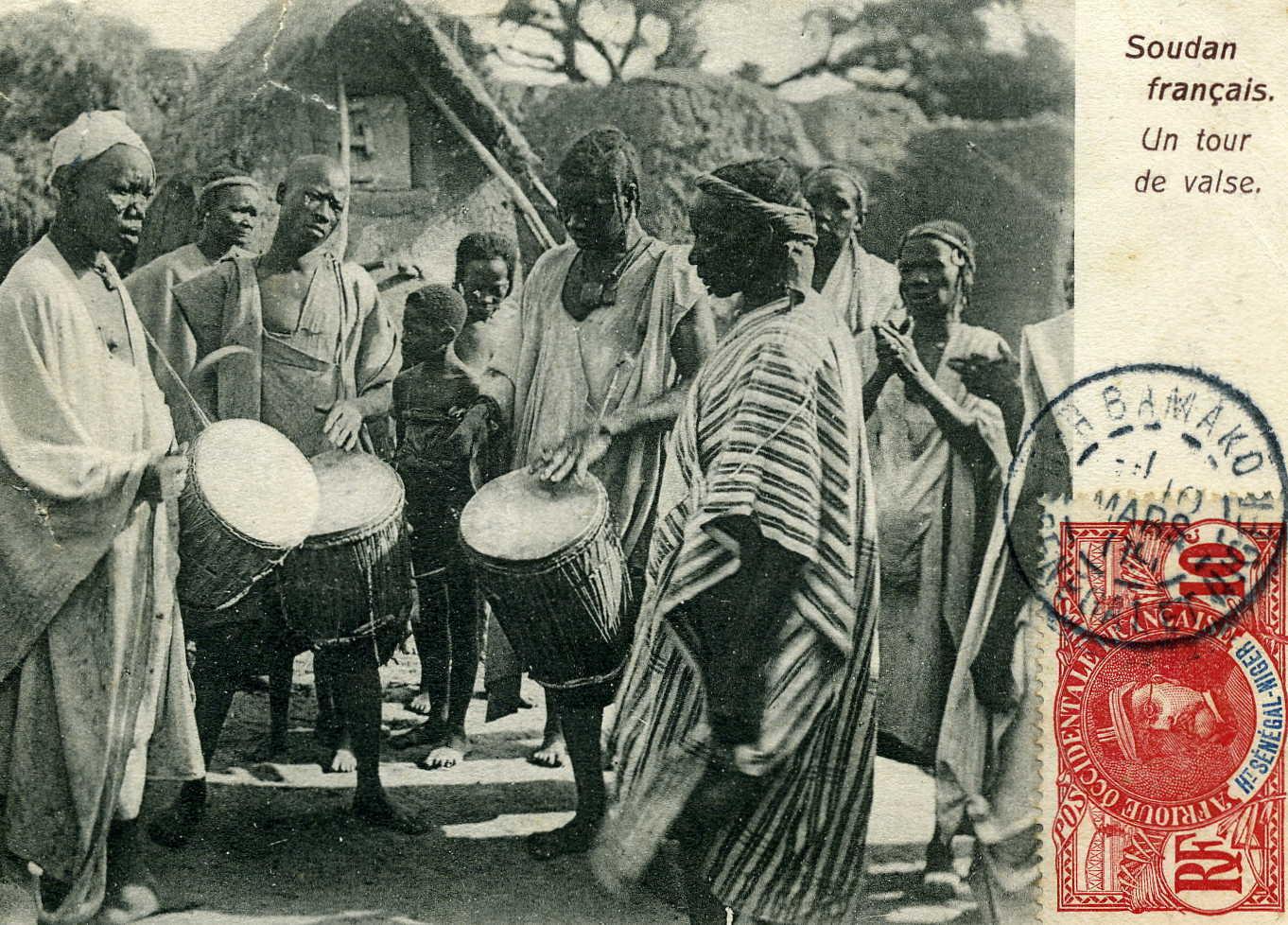 Bamako - Danse traditionnelle