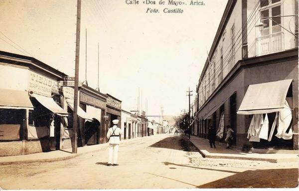 Arica - Calle Dos de Mayo.
